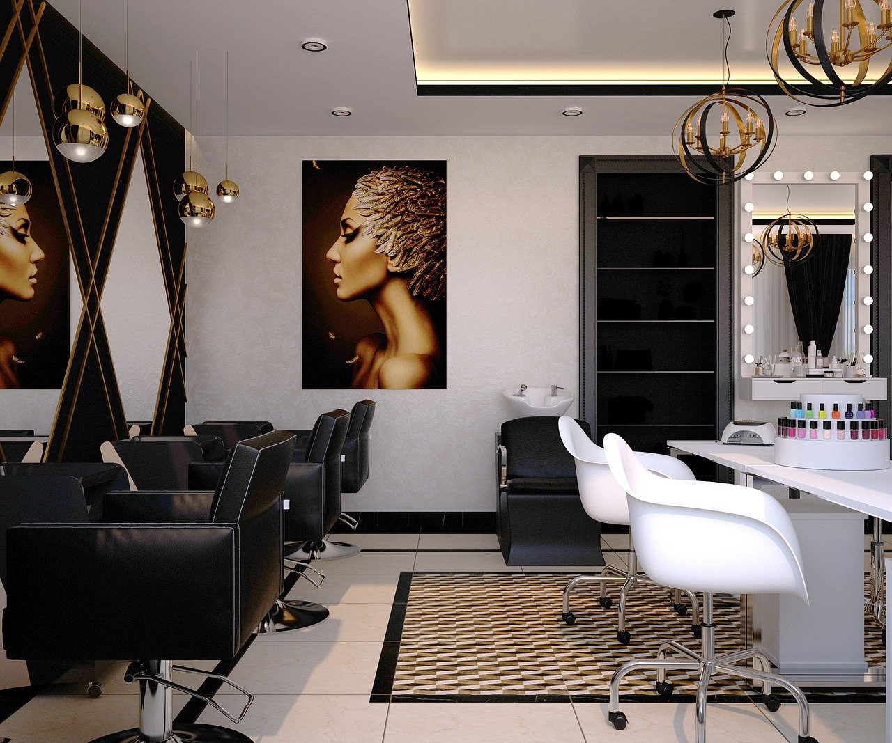 beauty salon, barber, nail salon