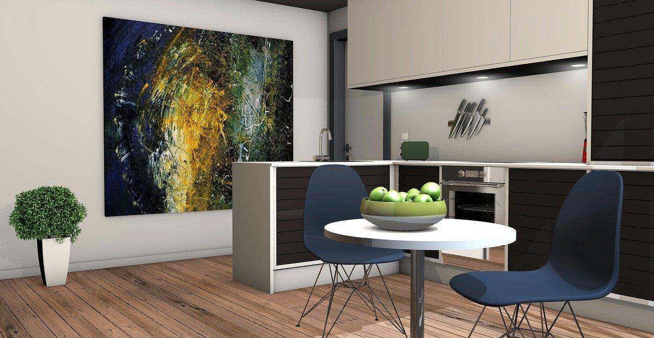 Interior design ideas for 1 Bhk flat in India