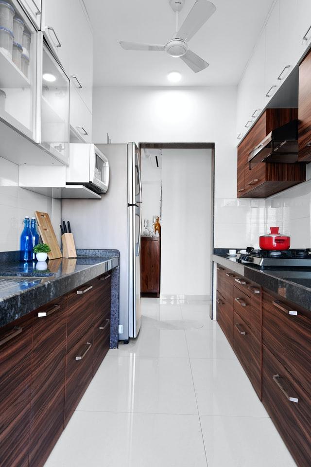 semi modular kitchen citadil interior