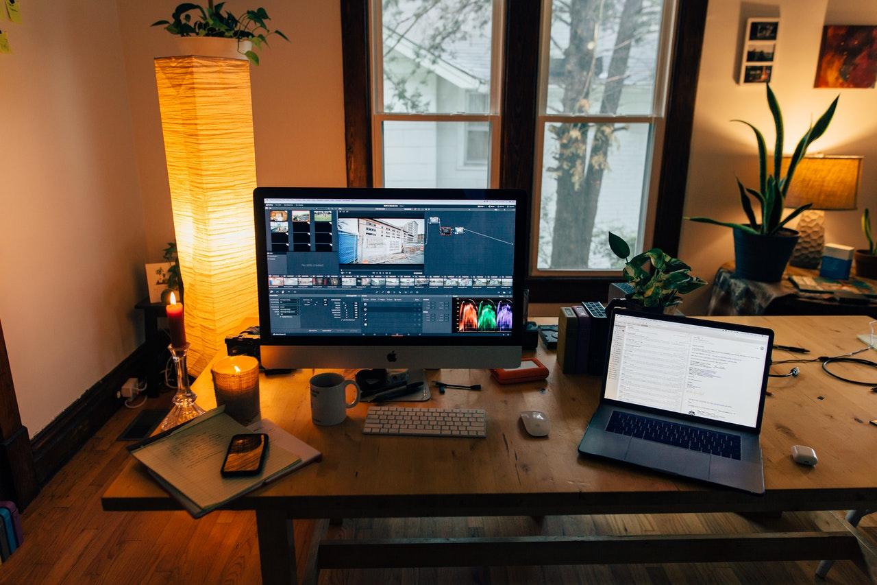 Home workspace interior design