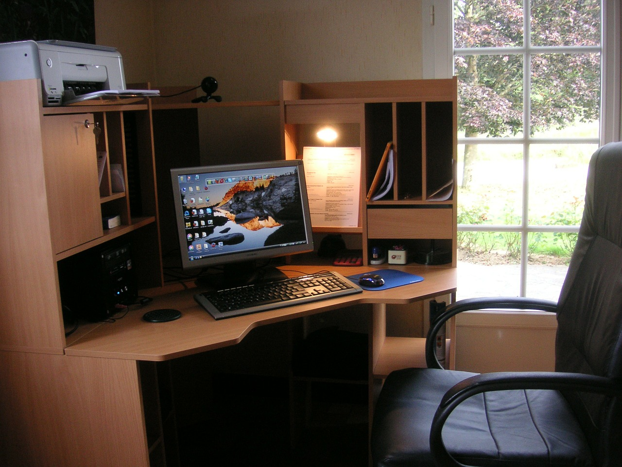work-space-at home interior