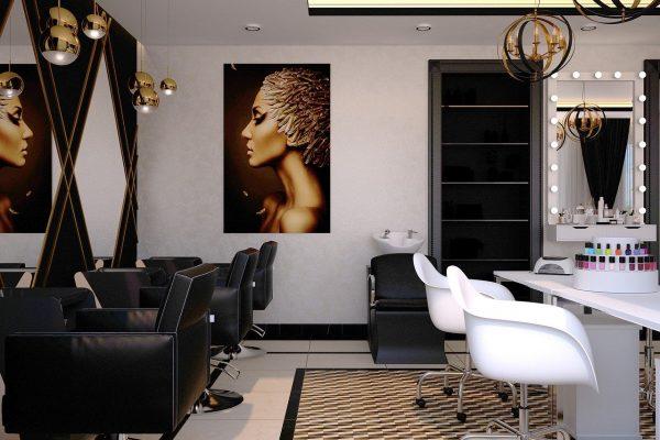 beauty salon, barber, nail salon